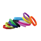Multi-color Silicone Bracelets With Your Logo