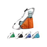 Multifunctional Outdoor Waist Bag with Bottle Holder