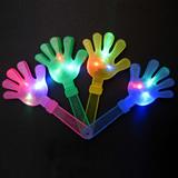 New Design Glow In The Dark Luminous Plastic Cheering Hand C