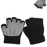 New Gym Non Slip Yoga Half Toe Yoga Pilates Gloves