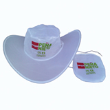 New Stylish Imprinted Folding Cowboy Hat