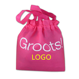 Non-Woven Fabric Tote Bags with secured rope