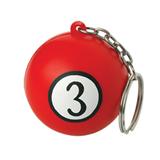 PU Stress Ball with Key Ring;Stress ball keychain