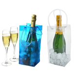 PVC Clear Wine Chiller Bag