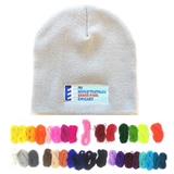Pantone Matched Knit Beanie With Embroidered Logo