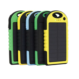 Patent Product Solar Outdoor Waterproof 5000mAH Mobile Power