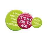Plastic Button Badge