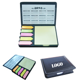 Popular Business Sticky Note With Calendar, Leather Cover Me