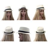 Popular Design Unisex Fabric Fedora Hat;Straw Hat;Net Cap