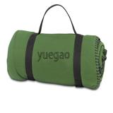 Portable Handle Design  Double-sided Velvet Travel Blanket