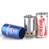 Portable New Design Coke Can Shaped USB Drive