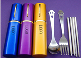 Portable Stainless Steel Tableware