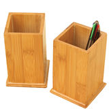 Promotinal Bamboo Pen Holder