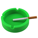 Promotion Enviromental Silicone Circle Ashtray