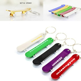 Promotional Finger Skateboard Keychains With Opener