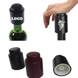 Promotional Press Type Red wine vacuum bottle stopper