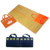 Promotional Straw Beach Mat, Water And Sand Resistant
