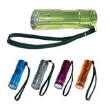 Promotional Sturdy Aluminum LED Flashlight