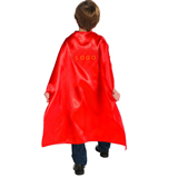 Red Child Super Hero Cape