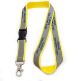 Reflective Lanyards with custom Printed Logo