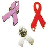 Ribbon Shaped Pin