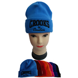 Roll Up Hemming Knitted Beanie Hat