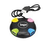 Round Colorful USB 2. 0 4Ports HUB