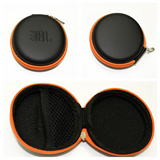 Round Earphone Case/Gadget Pouch