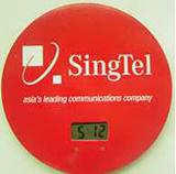 Round Refrigerator Magnet Clock