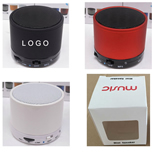 Round Wireless Bluetooth Speaker