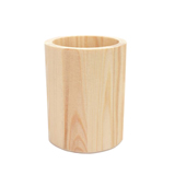 Round Wood Pen Holder