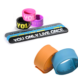 Rubber Slap Bracelet