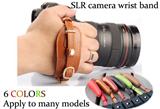 SLR camera wrist band