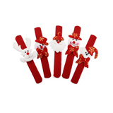 Santa Claus Decor Slap Pat Christmas Slap Bracelet