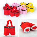 Santa pants candy bag