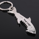 Shark Style Bottle Opener With Keyring