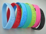 Silicon rubber bracelets