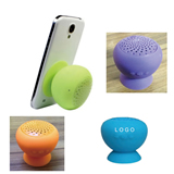 Silicone Bluetooth Speaker With Phone Stand