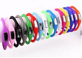 Silicone Bracelet Pedometer