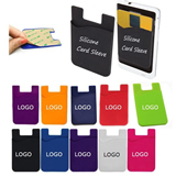 Silicone Card Sleeve/ Phone Wallet