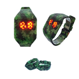 Silicone LED Electronic Watch