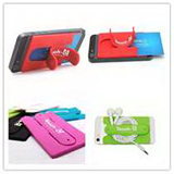 Silicone Phone Holder/Stander with Card Case