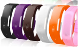 Silicone bracelet watches