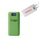 Slim Dual USB 16000mAh Power Bank With LCD