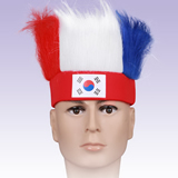Soccer Fan Wigs;Cheering Party Wigs