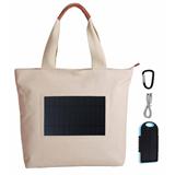 Solar Charger Beach Bag