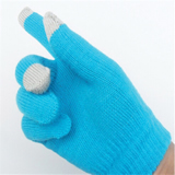 Solid Color Touching Gloves For Smartphones