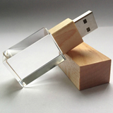 Square Crystal USB Flash Drive