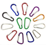 Stainless Carabiner Clip