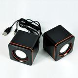 Stereo Systerm;Square Mini Twin Speaker;USB Mini Speaker